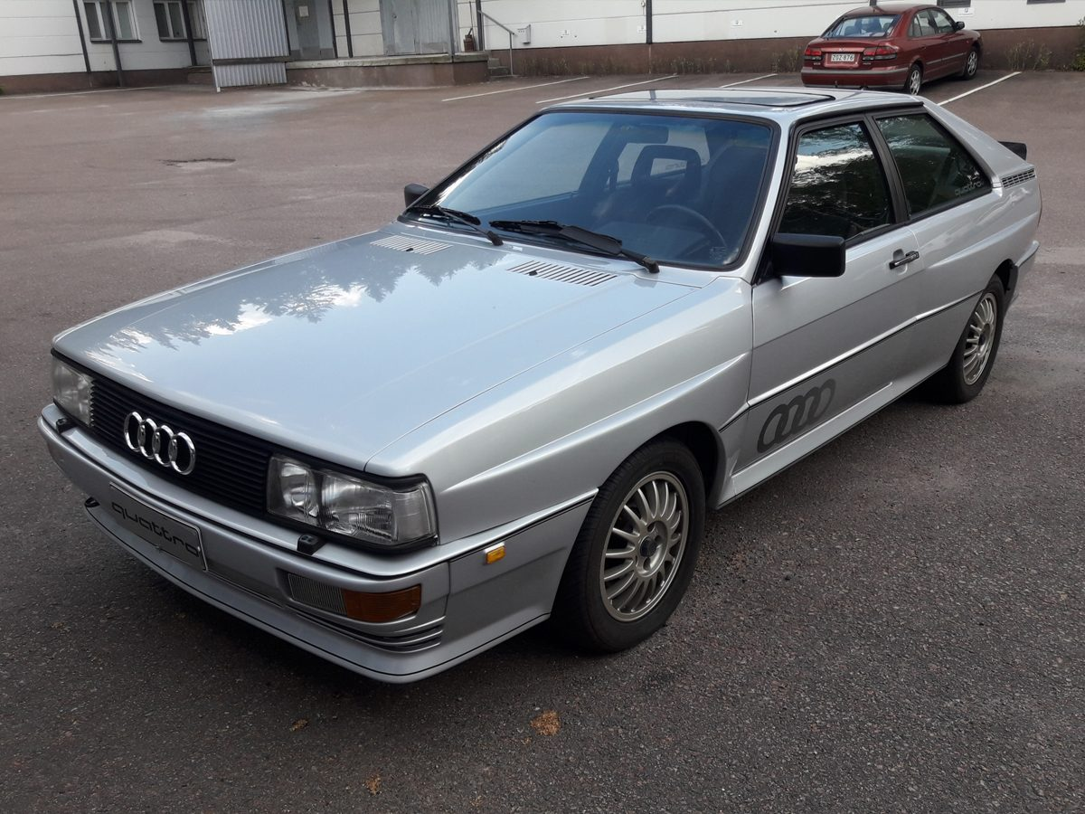 Audi Urquattro, 1982 - Jari Salokoski, Villähde