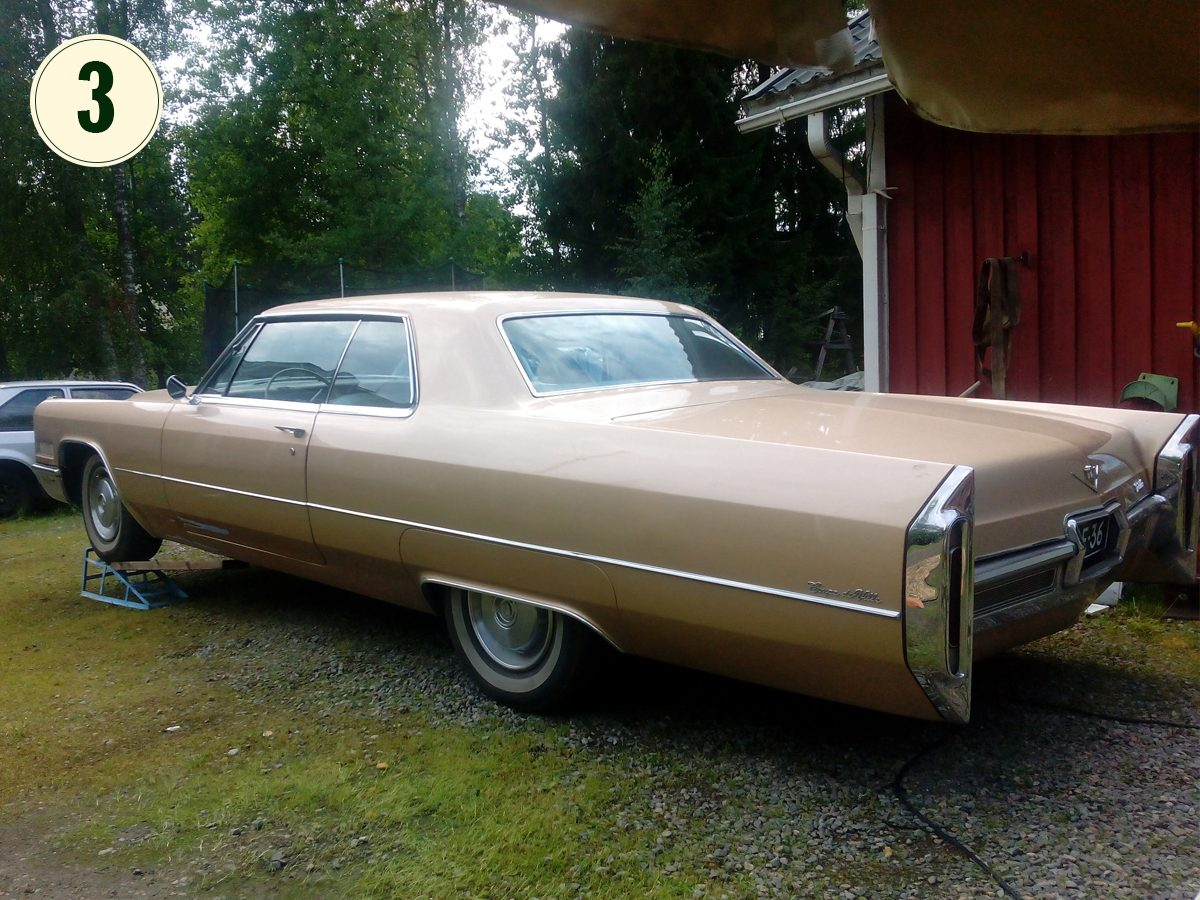 3) Cadillac Coupe de Ville, 1966 - Patse Tuominen, Kylmäkoski