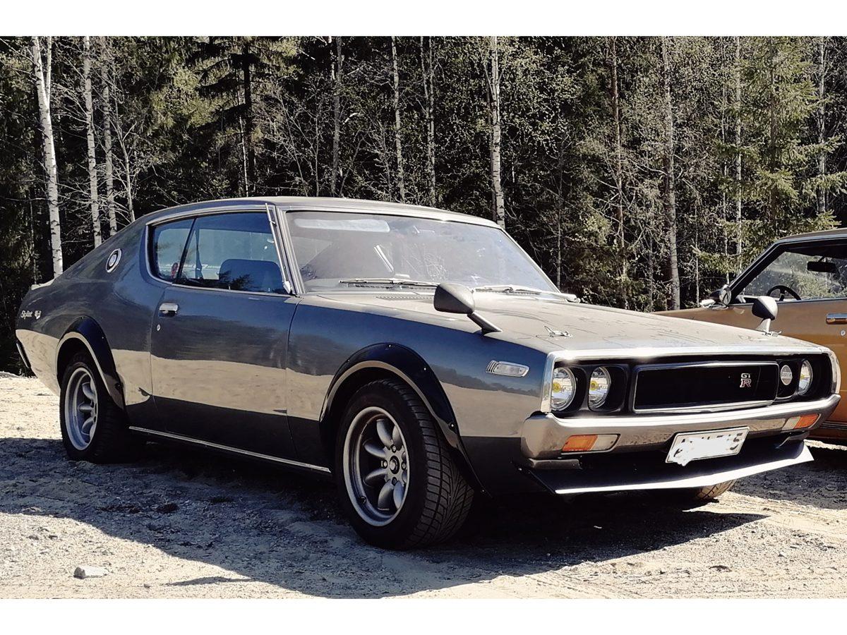 Datsun 240K-GT, 1974 - Otso Pennala, Joensuu