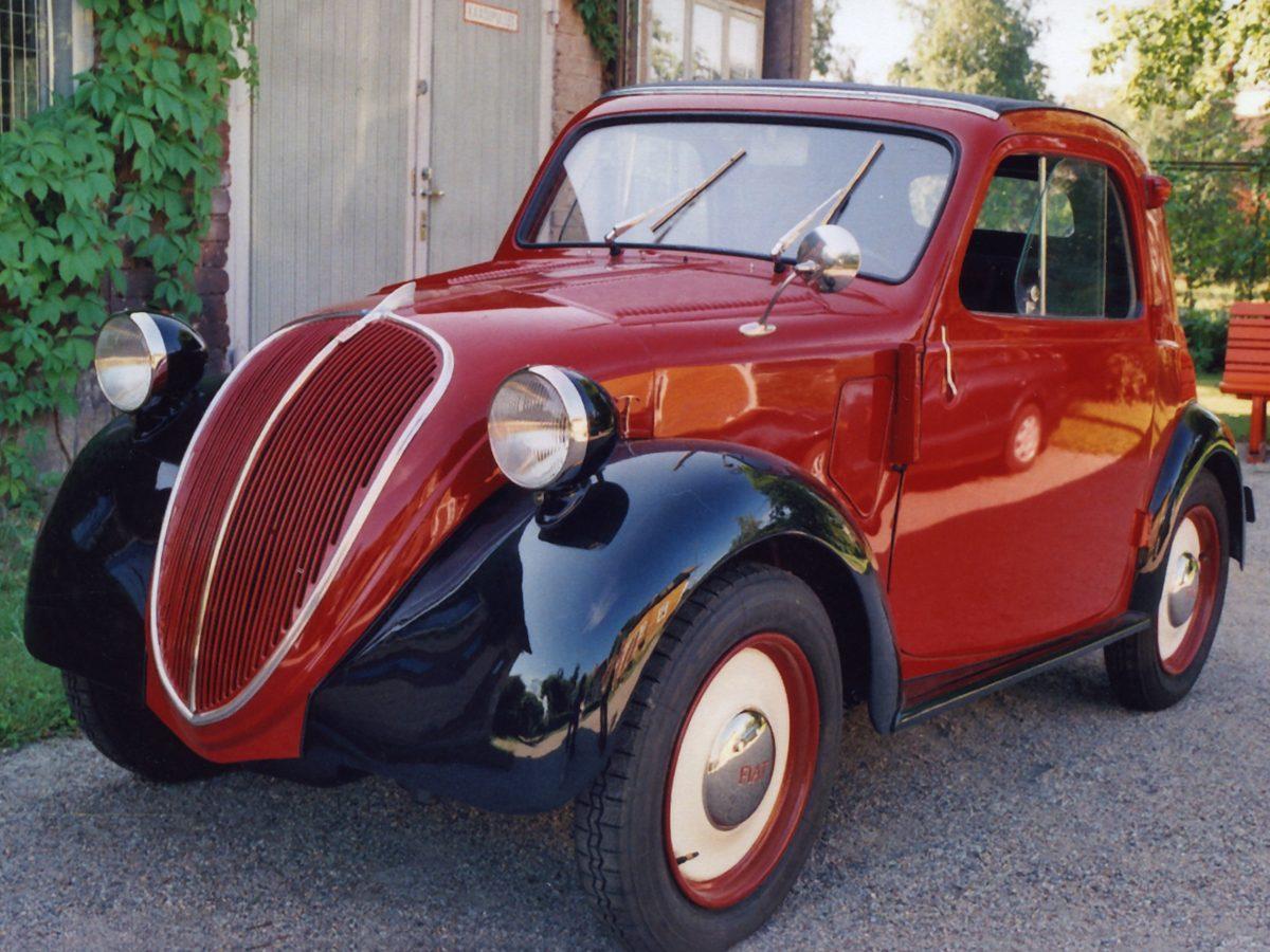 Fiat 500 Topolino, 1938 - Keijo Eskolin, Salo