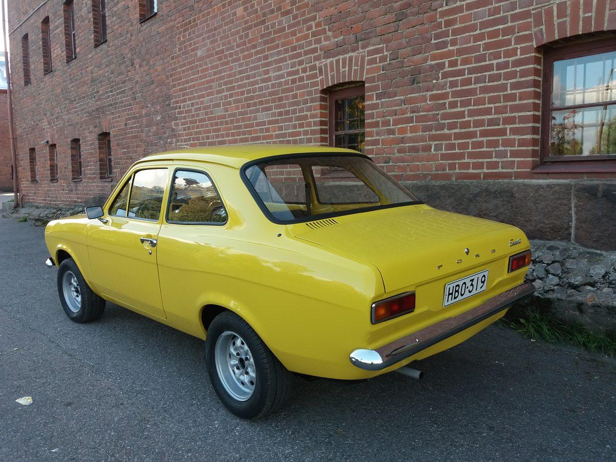 Ford Escort Mk1, 1973 - Niko Vuori, Rajamäki