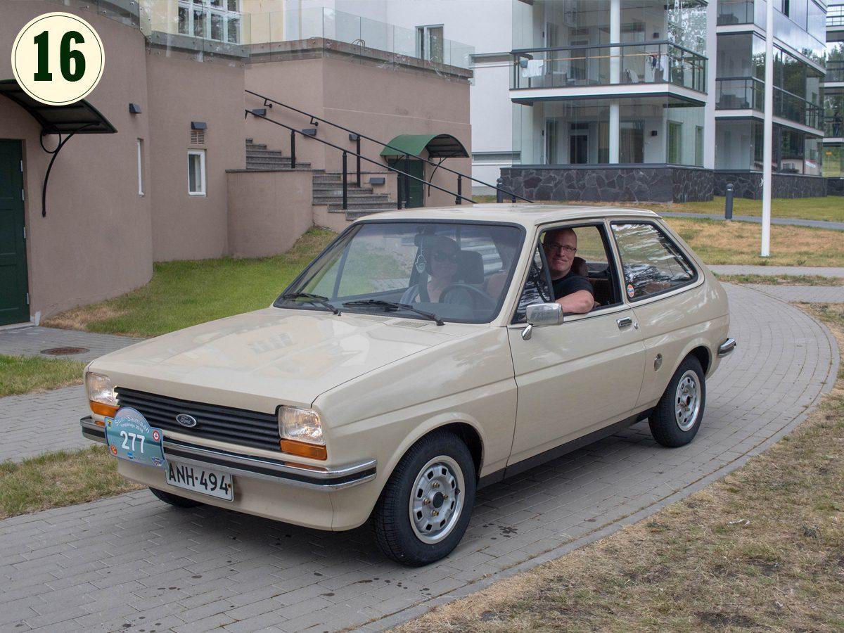16) Ford Fiesta 1.0 L, 1980