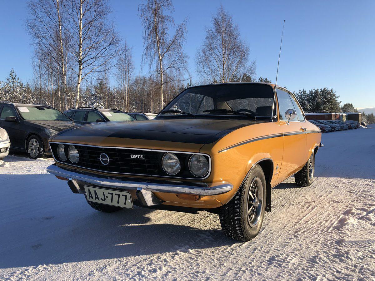 Opel Manta 1.9 SR, 1972 - Jukka Hirvonen, Paimela