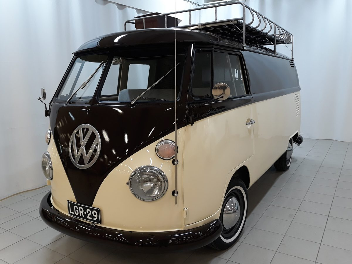Volkswagen T2 T1 Kastenwagen, Retkeilyvarustus, 1966 - Jorma Valkama, Saarenkylä